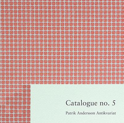 Katalog no 5 Patrik Andersson